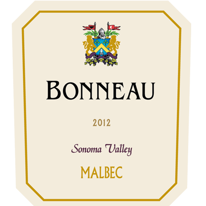 2012 Sonoma Valley Malbec - Bonneau Product Image